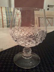 Verkaufe Whisky-Bleikristall-Gläser makelloser Zustand 6-er