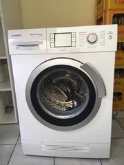 Bosch Waschmaschine und Trockner Waschtrockner