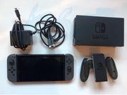 Nintendo Switch grau 128GB Speicherkarte
