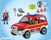 Playmobil Feuerwehrauto Kommandowagen 4822 komplett