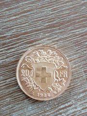 Münze 20 francs 1935