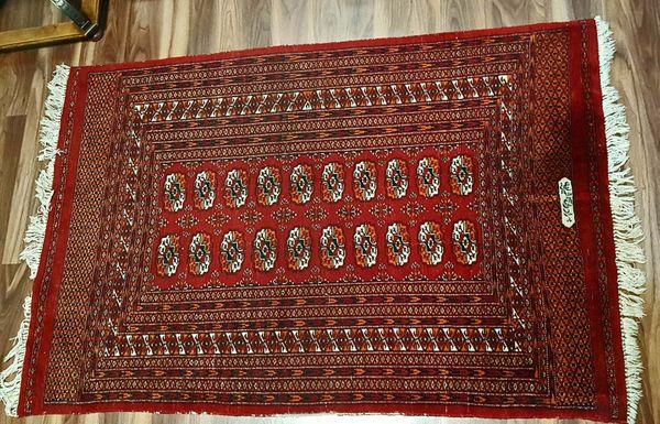 Antiker Turkmenen Stammes Teppich mit