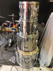 Pearl Export Schlagzeug mit Hardware-s