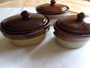 Vintage - Haushalt - Geschirr - 3 Stück