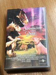 VHS Ein Schweinchen namens Babe