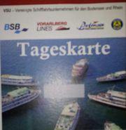 Zwei Tageskarten Bodensee-Linienschiffe