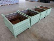 4 x Stapelkisten Stapelboxen kranbar