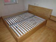 Massiv Holz Bett Liegefläche 180x200