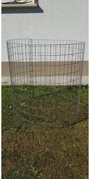 Grünmüllgitter Kompostsilo rund verzinkt Höhe