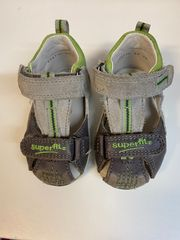 Bequeme Superfit Sandalen Gr 18