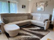Hochwertige Wohnlandschaft Sofa in U-Form