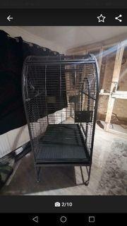 verkaufe meine große Vogelvoliere montana