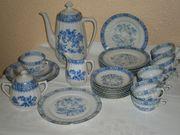 Kaffeegeschirr Bavaria China blau