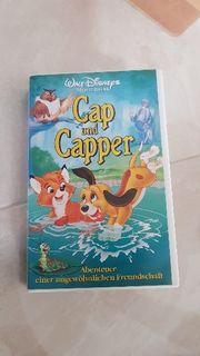 14 VHS Disney Kassetten für