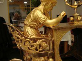 Bild 4 - Pendule Empire Bronze feuervergoldet - Zwickau Gemeinde Lichtentanne