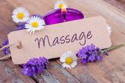 Biete erholsame Massage für die