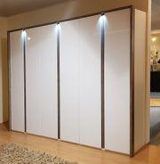 Kleiderschrank 6-trg Weiß-Hochglanz Sanremo 300