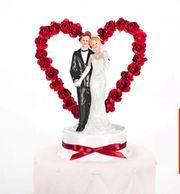 Hochzeitstorte Brautpaar Torte Dekoration Deko