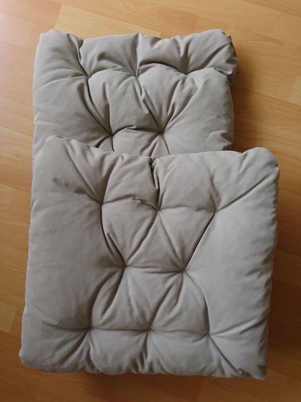 Neuwertige Sitzauflage Kissen Sitzkissen Fur Gartenstuhl