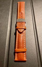 Barington Lederarmband Uhr 22mm Faltschließe