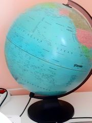 Leuchtender Globus