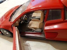 Modellautos - Bburago Ferarri Testarosa 1984