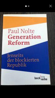 Generation Reform Paul Nolte
