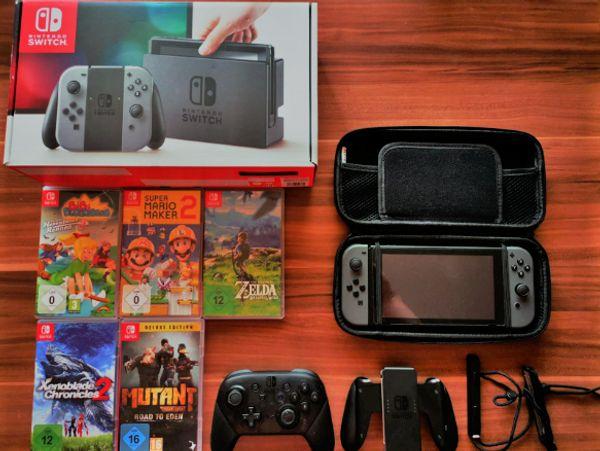 Nintendo Switch Schwarz in super