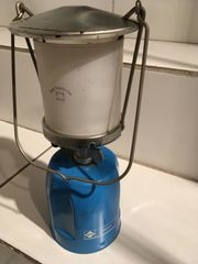 Camping - Lampe Laterne 70er Jahre
