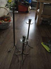 Metall-Kerzenständer