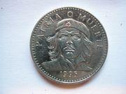 3 Peso Münze Kuba 1995
