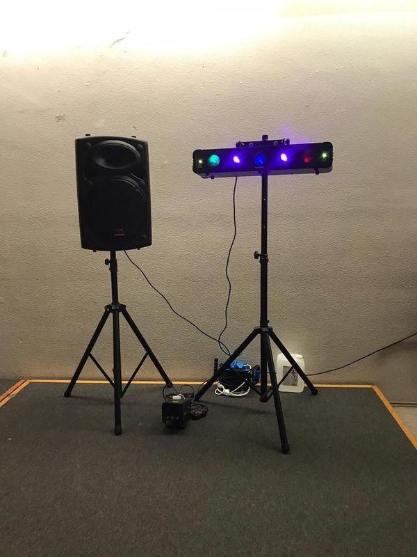 Soundanlage mit Akku Lautsprecher Funkmikrofone