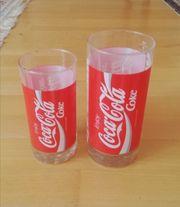 Vintage Coca Cola Coke Gläser