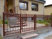 Metallzaun aus Polen Metalltreppen Gelander