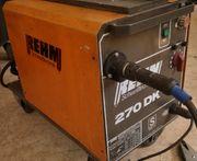 STS REHM270DK-gebrauchtes Schweißgerät-MIG MAG-270A 4Rollenantrieb