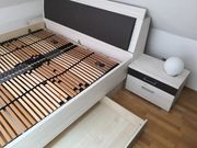 Hochwertiges Bett Lattenroste Nachttische
