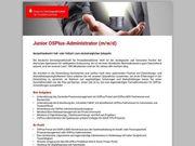 Junior OSPlus-Administrator m w d