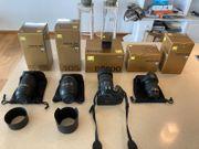 Profigerät Digitale Spiegelreflexkamera Nikon D5200