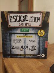 4x Brettspiel Escape Room das