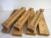 7 sehr alte Holz - Zigarrenformen