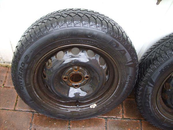 2 Winterreifen 175 /0 R14 84T 4, 5 mmauf Stahlfelgen - Kaiserslautern - 2x 175/70 R14 Fulda, Profil 4,5 mm, Stahlfelgen, für opel. ET43 4x100 Dot 1810. - Kaiserslautern