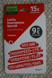 CallYa Smartphone Special Talk SMS -