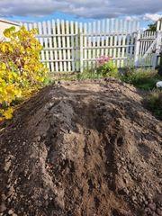 Mutterboden Erde sauber zu verschenken