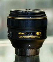 Neu Nikon AF-S Nikkor 58mm