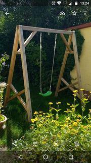Schaukelgestell Kinderschaukel Holz 212 x