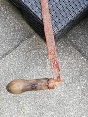 ALTES Werkzeug Gartendeko