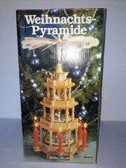 Weihnachtspyramide aus Holz Wenig genutzt