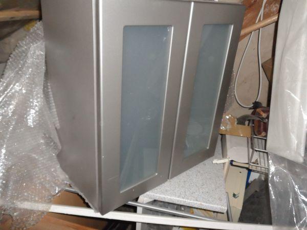 Wand Küchenschrank Glas Alno Hochwertig