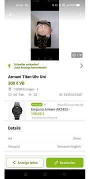Armani Titan Uhr