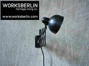 Restaurierte vintage Kaiser Idell Scherenlampe -
